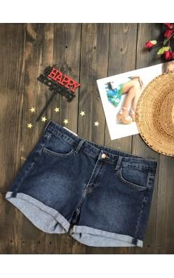 Синие джинсовые шорты H&M