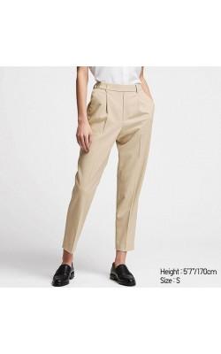Cветлые укороченные  брюки Uniqlo