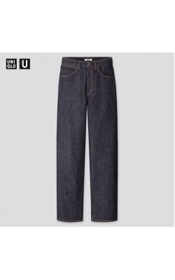 Широкие объёмные джинсы Uniqlo
