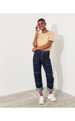Винтажные джинсы Boyfriend Hollister
