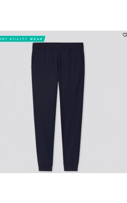 Темно-синие стрейчевые штаны Uniqlo (Ultra Stretch)