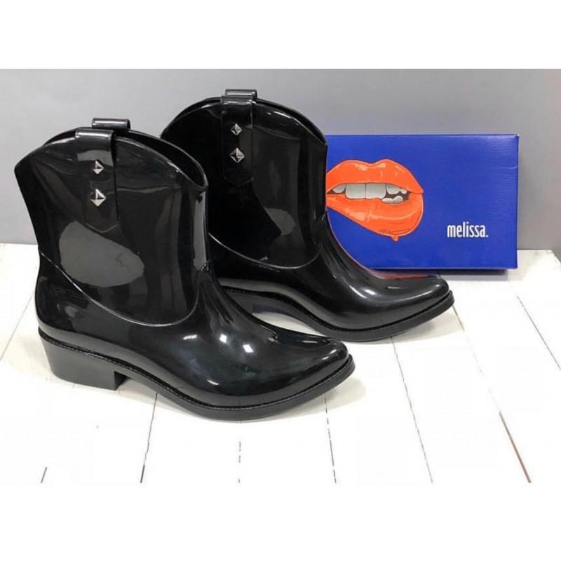 Водоотталкивающие черные ботинки Melissa
