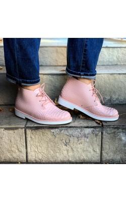 Водоотталкивающие пудровые ботинки Melissa
