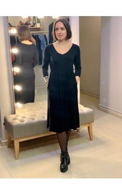 Черное платье с карманами Superfoxx