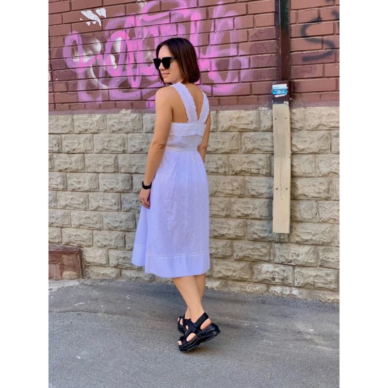 Белое платье  Abercrombie & Fitch