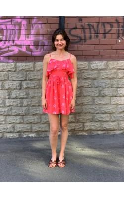 Коралловое платье Abercrombie & Fitch