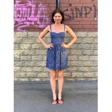 Кружевное платье с корсетом Abercrombie & Fitch