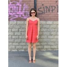 Красное мини платье Abercrombie & Fitch