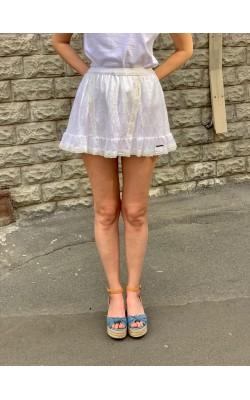 Белая юбка Abercrombie & Fitch