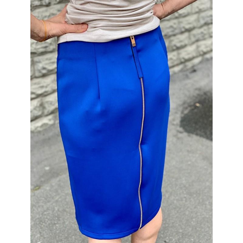 Синяя юбка Catherine Malandrino