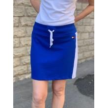 Cиняя трикотажная юбка Tommy Hilfiger