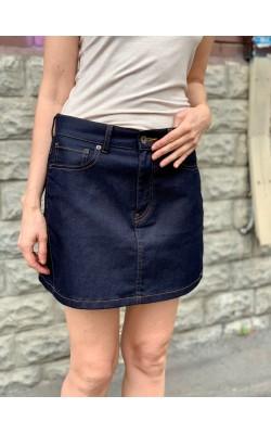 Джинсовая мини юбка Uniqlo