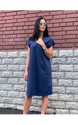 Платье Uniqlo синее