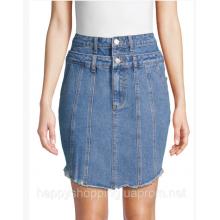 Джинсовая мини юбка Renvy