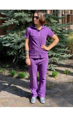 Фиолетовый спортивный костюм Bogner