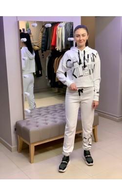 Спортивный костюм Calvin Klein Performance белоснежный