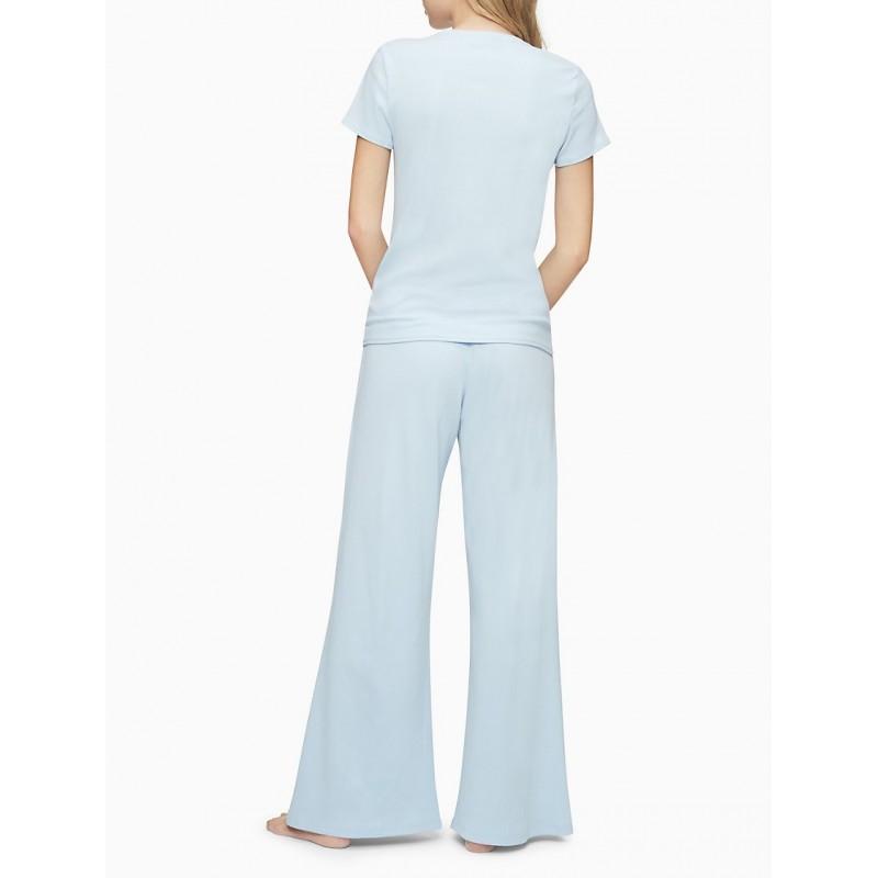 Светло-голубые штаны Calvin Klein