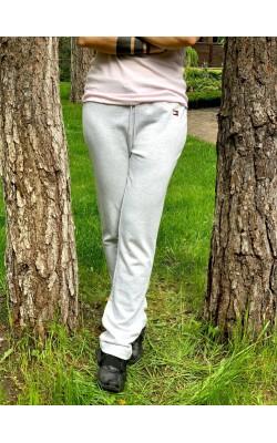 Cветло-серые спортивные штаны Tommy Hilfiger