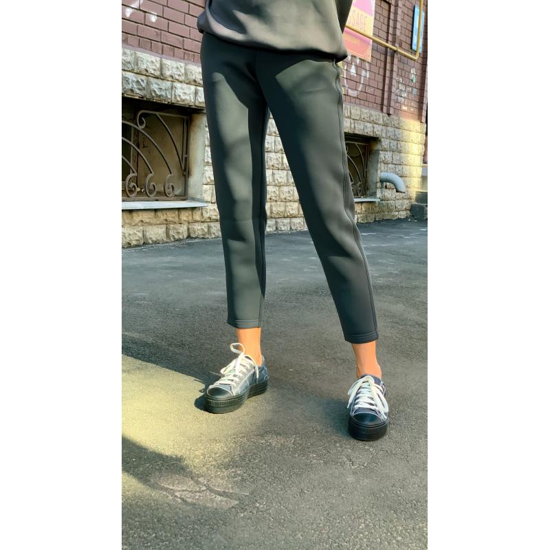 Спортивный костюм UNIQLO серый