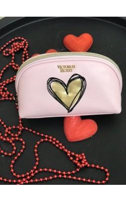 """Розовая косметичка """"Love"""" Victoria's Secret"""