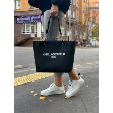 Сумка Karl Lagerfeld Paris черная Adele Zip Top Tote