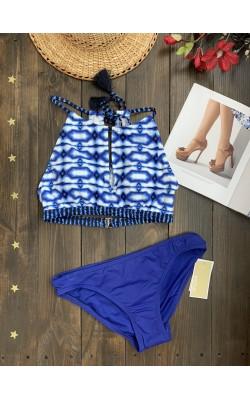 Синий купальник Michael Kors