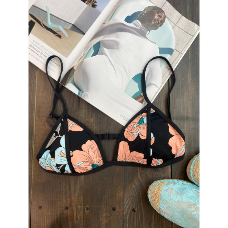 Черный раздельный купальник The Bikini Lab
