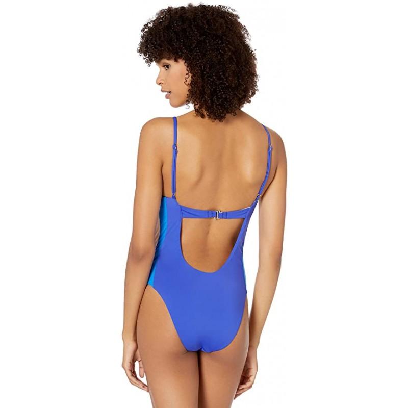 Сдельный купальник The Bikini Lab синий