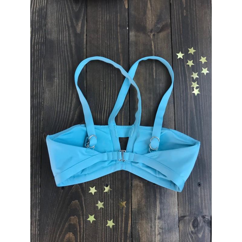 Голубой верх от купальника Victoria's Secret