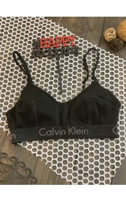 Черный  бралетт Calvin Klein