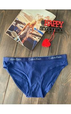 Темно-синие трусики-бикини от Calvin Klein