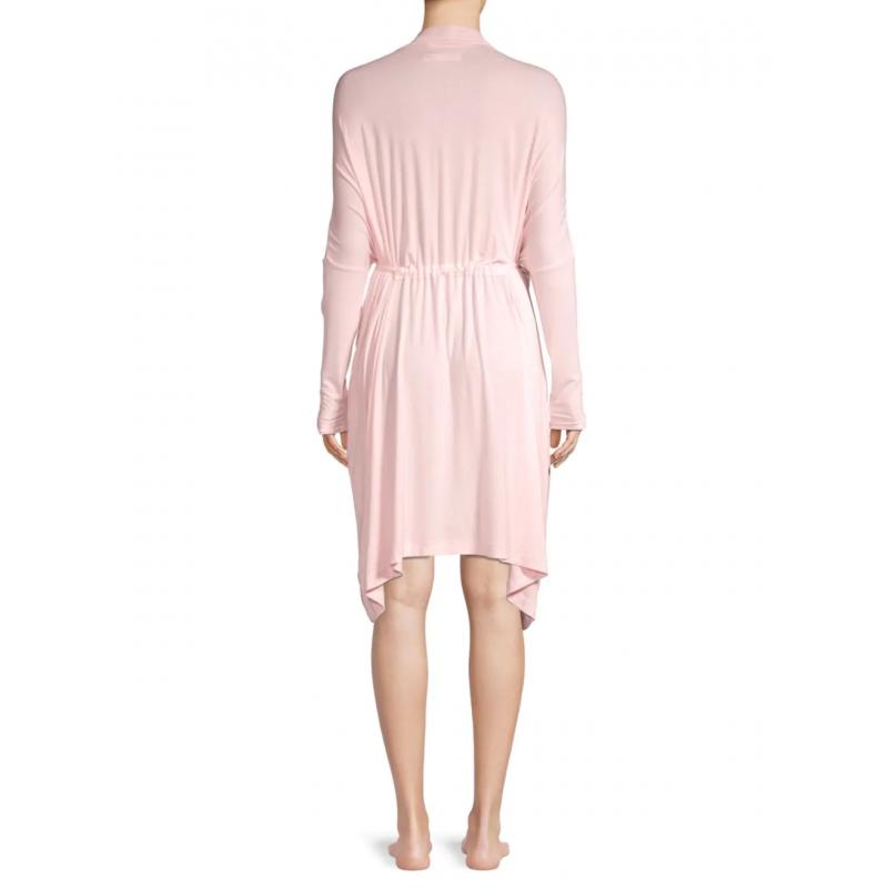 Нежно-розовый халат UGG