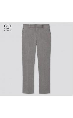 Серые укороченые брюки от Uniqlo