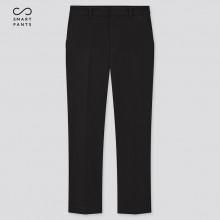 Черные укороченные брюки Uniqlo со стрелками