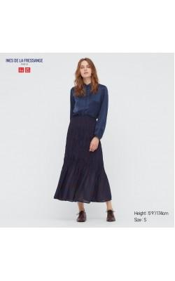 Юбка Uniqlo+Ines De La Fressange темно-синяя