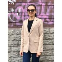 Бежевый пиджак Uniqlo