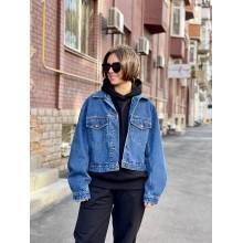 Cиняя джинсовая куртка Uniqlo