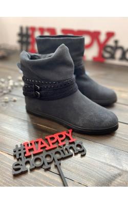 Темно-серые ботинки CafeNoir