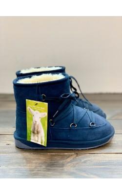 Синие зимние сапоги BooRoo